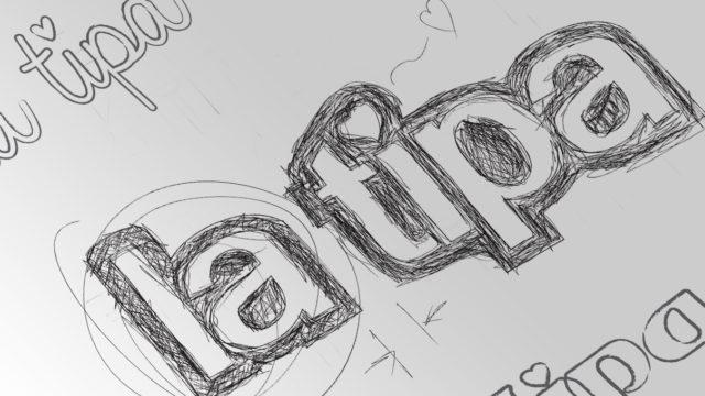 latipa logo draw