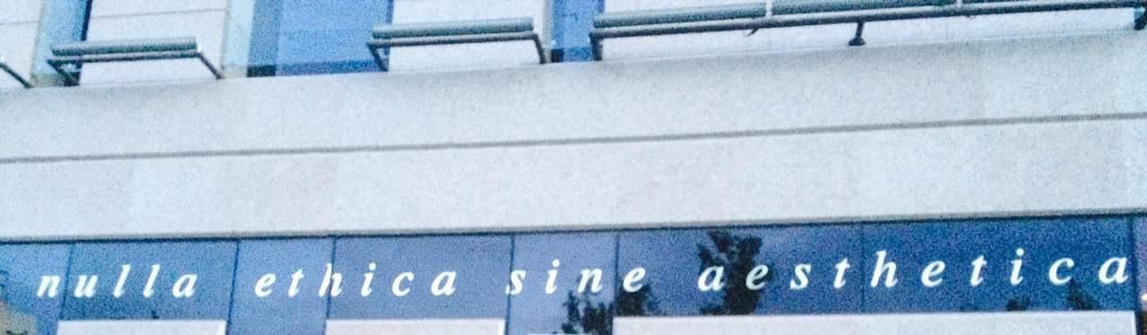 nulla ethica sine aesthetica